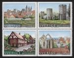 Stamps Sweden -  SUECIA - Ciudad hanseática de Visby