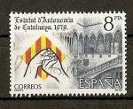 Sellos de Europa - España -  Proclamacion del Estatuto de Autonomia de Cataluña.