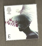 Stamps United Kingdom -  Sombreros femeninos