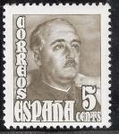 Sellos del Mundo : Europa : España : Franco 5 Cents edifil nº 1020