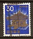 Sellos del Mundo : Asia : Japón : Salón Dorado,Templo Chuson.