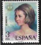 Sellos del Mundo : Europa : España : Doña Sofia - Homenaje y recuerdo de la proclamacion del Rey Don Juan Carlos I