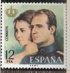 Sellos de Europa - España -  Los Reyes - Homenaje y recuerdo de la proclamacion del Rey Don Juan Carlos I