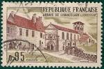 Stamps France -  ABADIA de CHANCELADE, Ciudades y monumentos