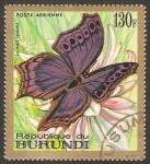 Sellos de Africa - Burundi -  mariposa salamis temora
