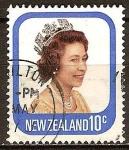 Stamps Oceania - New Zealand -  La reina Isabel II.