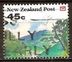 Sellos del Mundo : Oceania : Nueva_Zelanda : paisaje.