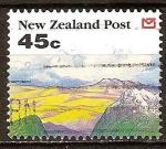 Sellos del Mundo : Oceania : Nueva_Zelanda : Colinas y montañas.