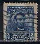 Sellos de America - Estados Unidos -  Scott  304 Lincoln (9)