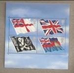 Sellos de Europa - Reino Unido -  Banderas