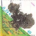 Sellos de Europa - España -  arboles-olivo