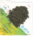 Stamps Spain -  arboles-haya