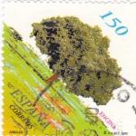 Sellos de Europa - España -  arboles-encina