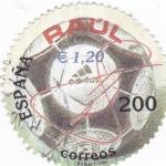 Sellos de Europa - España -  expisicion mundial filatelia españa 2000-deportes RAUL