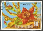 Sellos de Africa - Guinea Ecuatorial -  flor stapela variegata