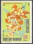 Sellos de Africa - Guinea Ecuatorial -  flor alpinia nutans