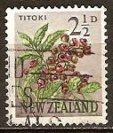 Sellos del Mundo : Oceania : Nueva_Zelanda : Titoki-Alectrión excelsus (planta).