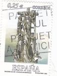 Stamps Spain -  cruceiro de hío (cangas do morrazo)
