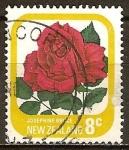 Sellos del Mundo : Oceania : Nueva_Zelanda : Jardín de las Rosas.