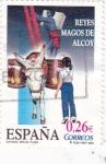 Sellos del Mundo : Europa : España : reyes magos de alcoy