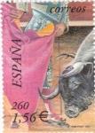 Sellos de Europa - España -  toros