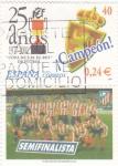 Stamps Spain -  copa  del rey 25 años FEF