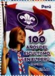 Stamps Peru -  100 años del Escultismo en el Perú 2011-06.2