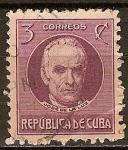 Sellos de America - Cuba -  José de la luz.