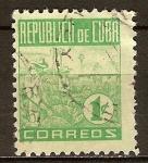 Sellos del Mundo : America : Cuba : La Habana, la industria tabacalera. Recogida del tabaco.
