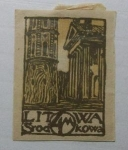 Stamps : Europe : Lithuania :  Torre y Catedral Vilnius.
