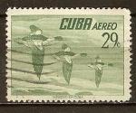 Sellos del Mundo : America : Cuba : Cuba aereo-Patos.