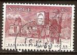 Sellos del Mundo : Europa : Noruega : Centenario de Señales del Ejército de cuerpos.