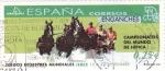 Stamps Spain -  juegos ecuestres mundiales Jerez