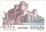 Stamps Spain -  castillo de cuellar