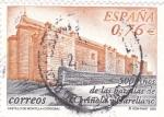 Stamps Spain -  castillo de montilla (cordoba)