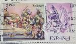Stamps Spain -  Juan de Juni 1507 1577