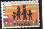Sellos del Mundo : Europa : España : Seguridad vial - Mire, antes de cruzar