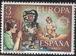 Sellos del Mundo : Europa : España : EUROPA - Jarron de ceramica de Talavera, Toledo