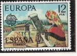 Sellos del Mundo : Europa : España : EUROPA - Pieza de encaje de Camariñas, La Coruña