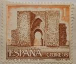 Sellos de Europa - España -  Puerta de Toledo · Ciudad Real