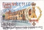 Sellos de Europa - España -  bicentenario  de la fundación de la academia del ejercito