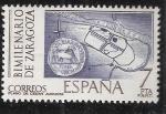 Sellos del Mundo : Europa : España : Plano de la ciudad romana