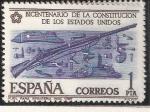 Sellos de Europa - España -  Fusil para infantería  Mod. 1757
