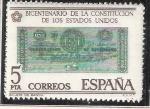 Sellos de Europa - España -  Billete de Banco