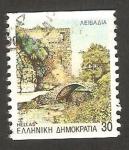 Sellos de Europa - Grecia -  1848 - Puente de Levadia