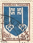 Sellos de Europa - Francia -  Mont-de-Marsan