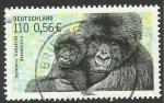 Stamps Germany -  fauna, gorila
