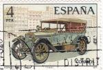Stamps Spain -  automóviles antiguos españoles