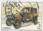 Sellos de Europa - España -  automóviles antiguos españoles