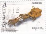 Stamps Spain -  museu de la jugueta sa pobla- diligencia